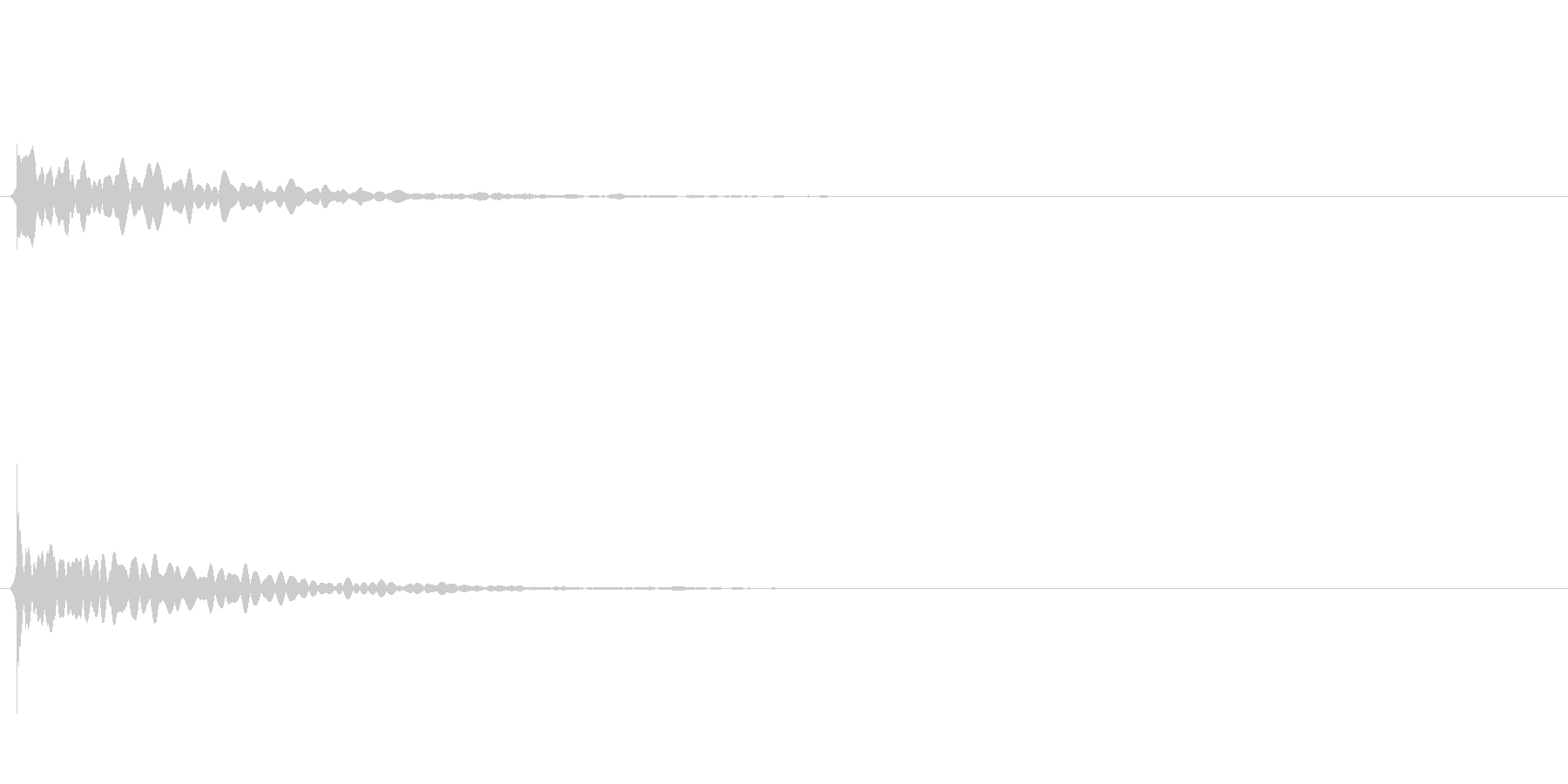 キラキラ系_083の未再生の波形
