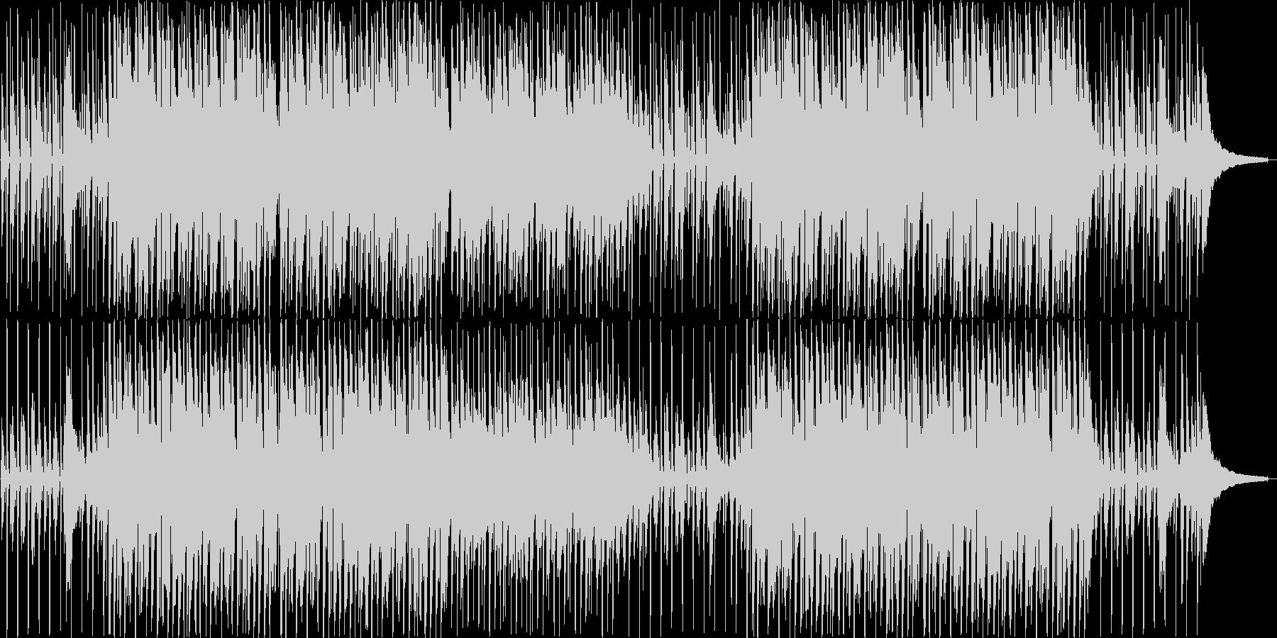 ほのぼのハッピーなアコースティックBGMの未再生の波形