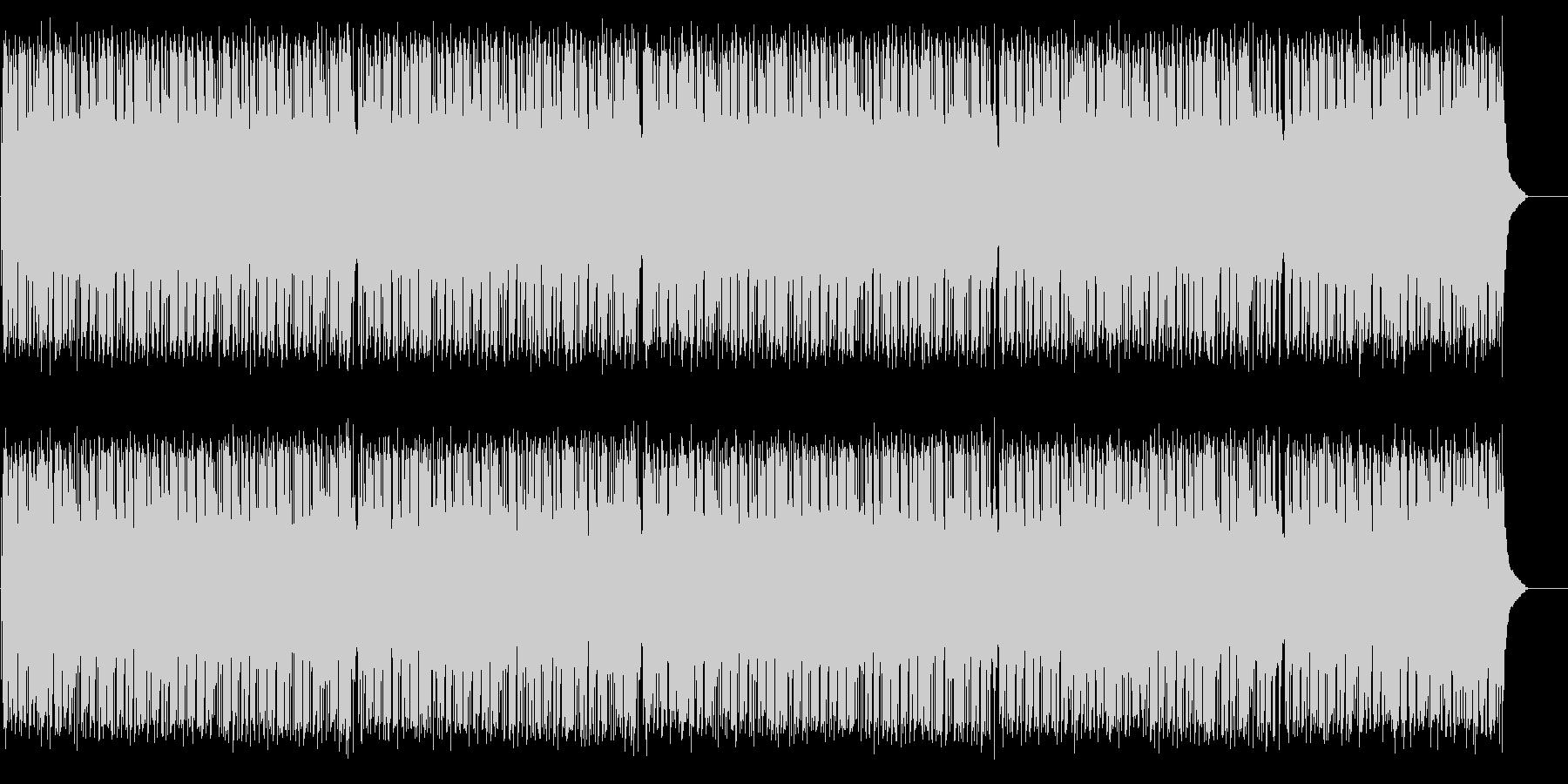 テンポの良いポップ(フルサイズ)の未再生の波形