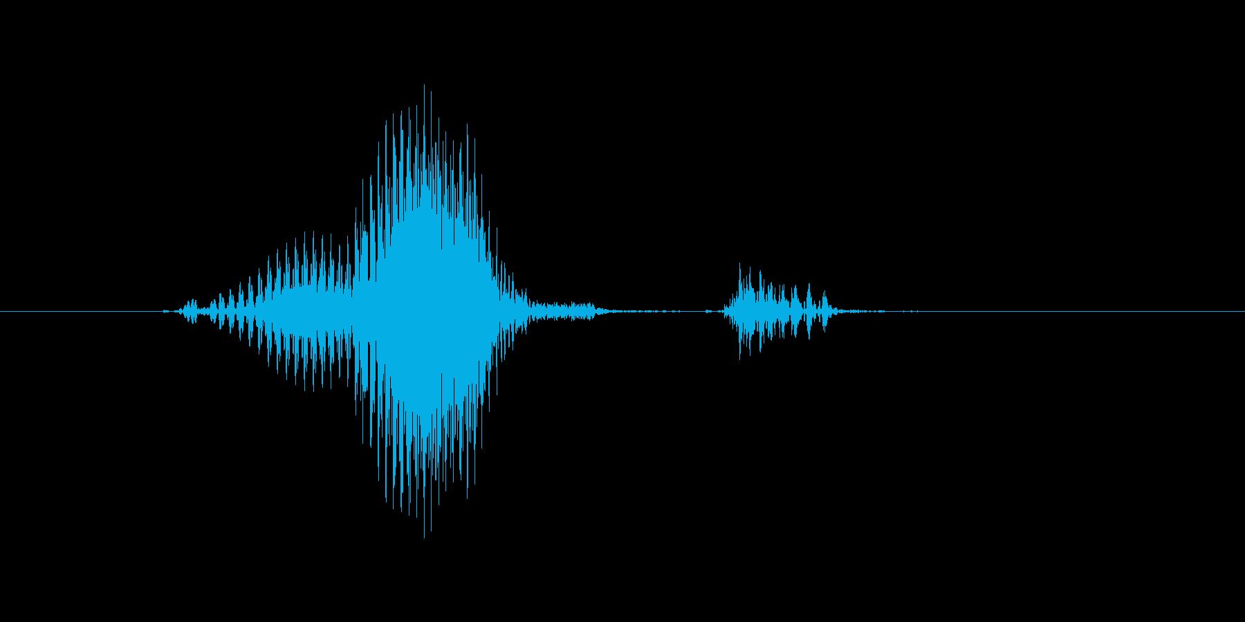 レフトの再生済みの波形
