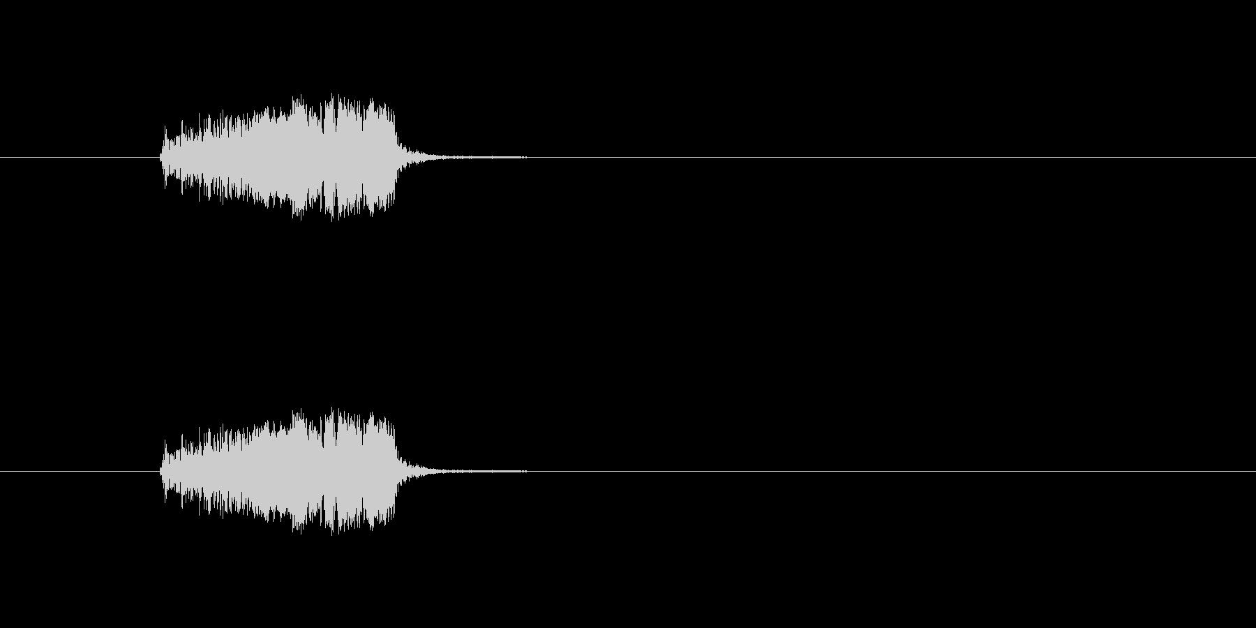 ジャキッ モンスターの攻撃等に使えますの未再生の波形