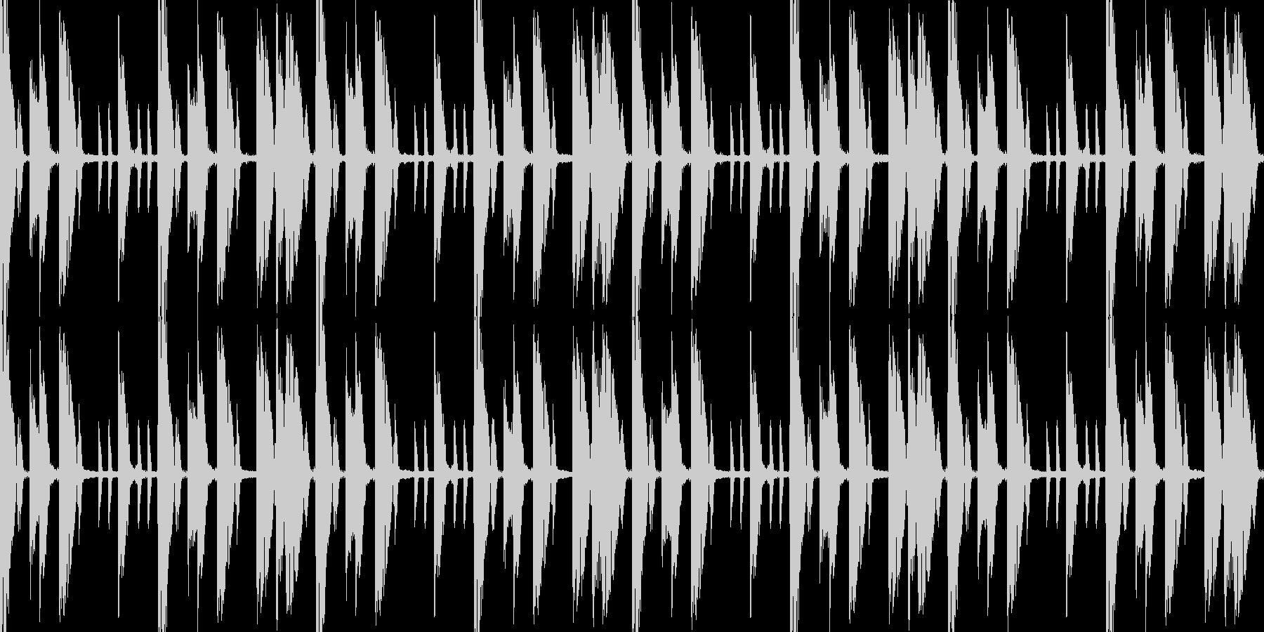 シンキングタイムの未再生の波形