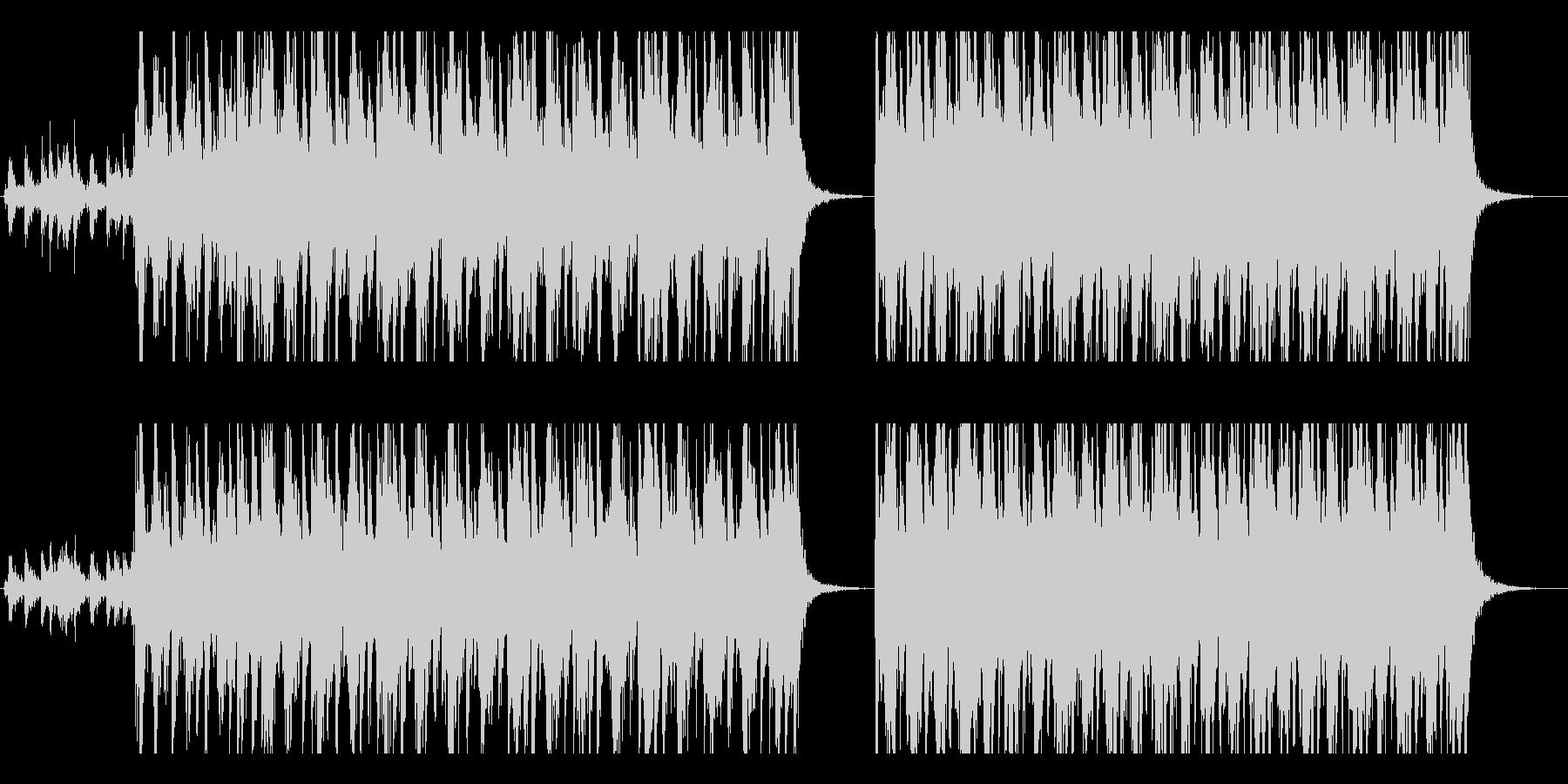 中世・ファンタジー風の野蛮な行軍ドラムの未再生の波形