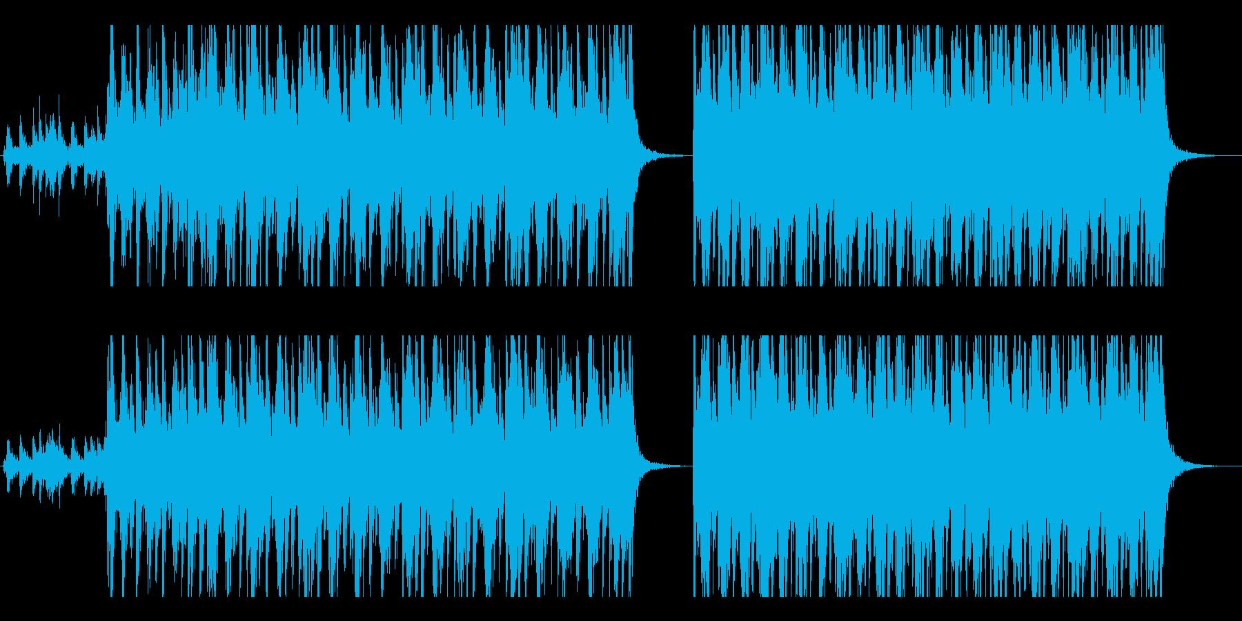 中世・ファンタジー風の野蛮な行軍ドラムの再生済みの波形