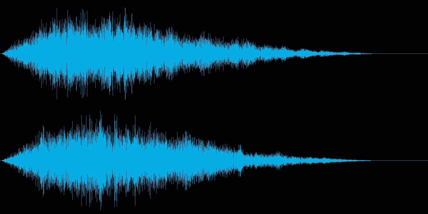 SF系のインパクト音 ブオー ボー 宇宙の再生済みの波形