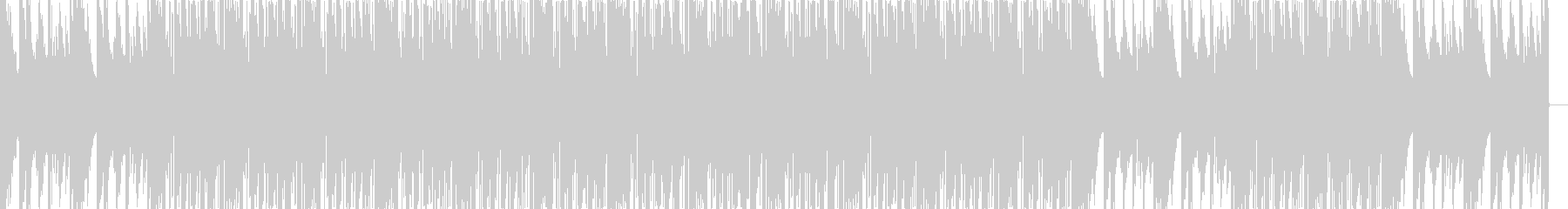 Lo-Fi HIPHOP_Pianoの未再生の波形