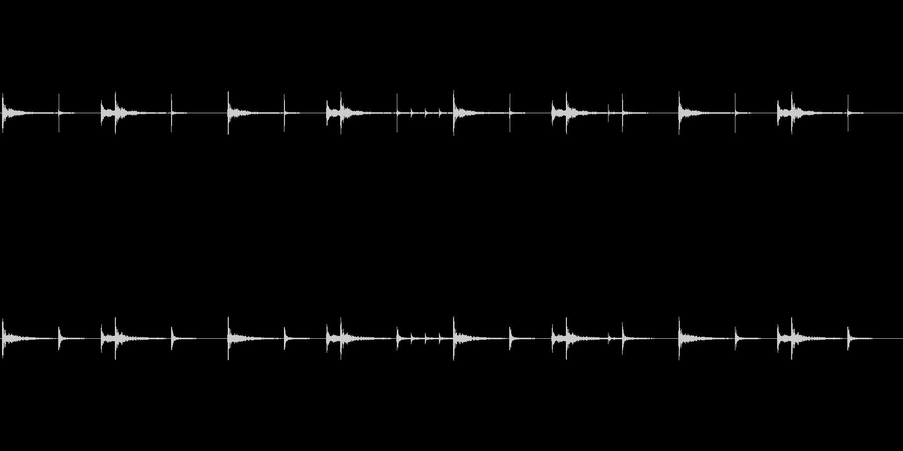 和太鼓のリバーブありループ音源です。歴…の未再生の波形