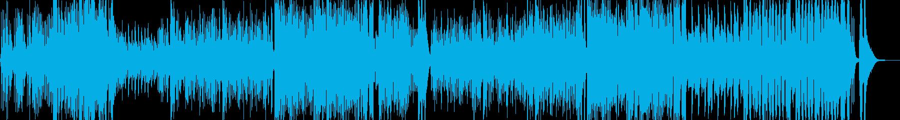 小動物的なコミカルマーチの再生済みの波形