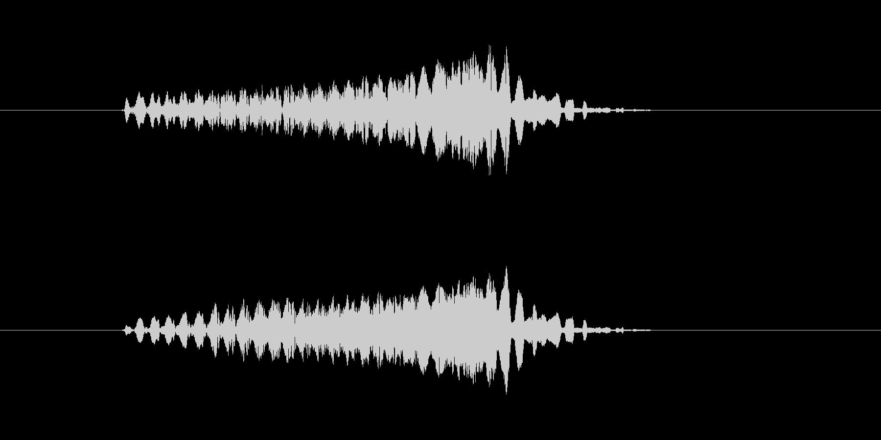 ピュルルルルル↑(電子音、SF)の未再生の波形