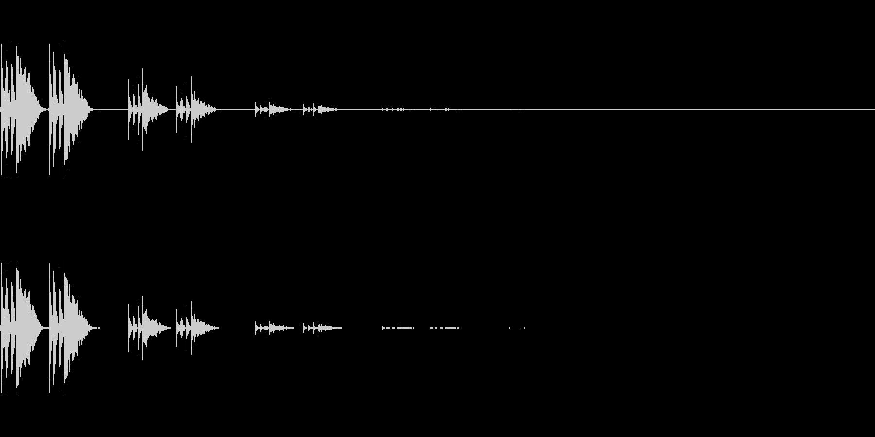 【アクセント04-4】の未再生の波形