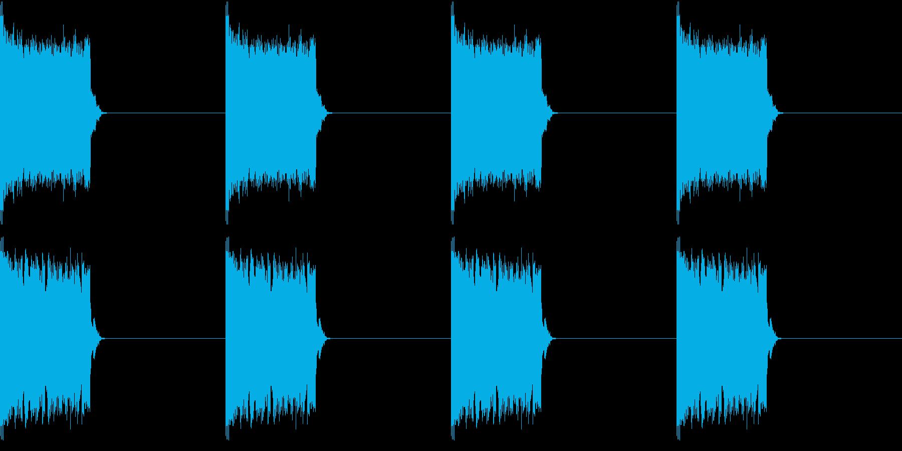 電話 呼出音 バリエーション沢山ありますの再生済みの波形