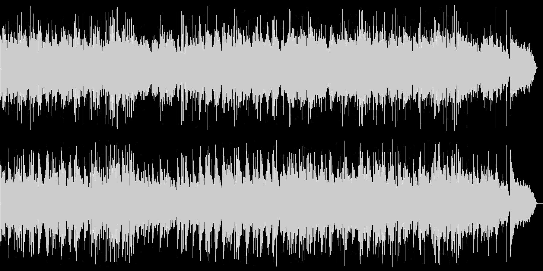 アコースティックギターのヒーリングの未再生の波形