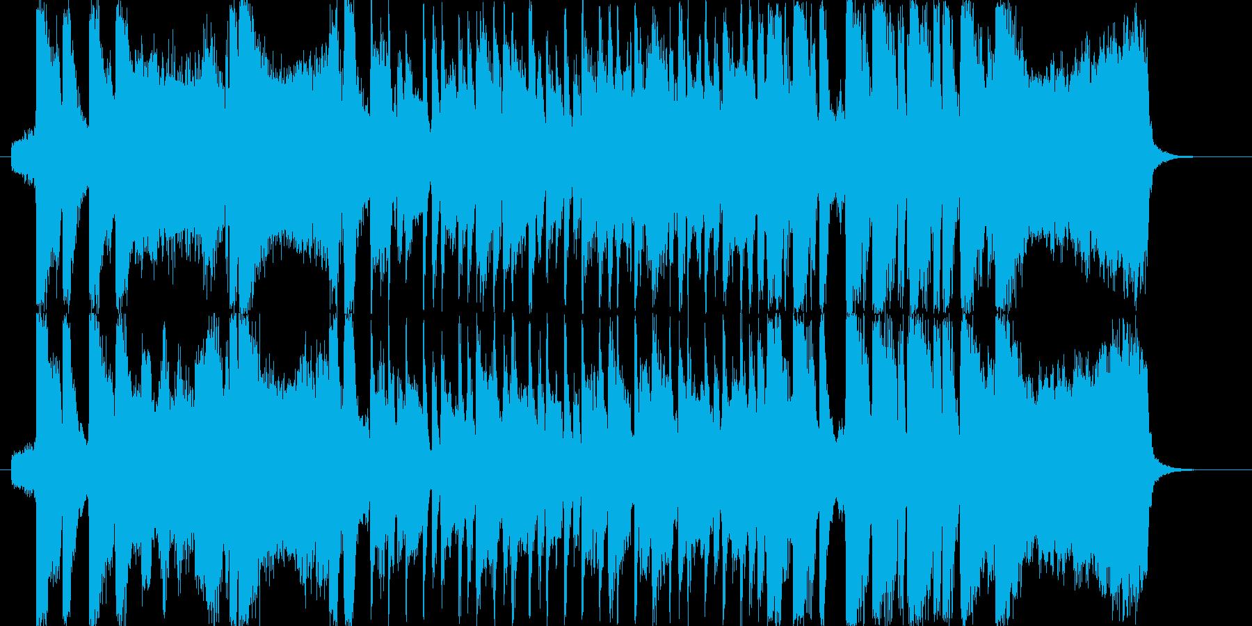 元気の出るオープニング〜爽やか系ピアノの再生済みの波形