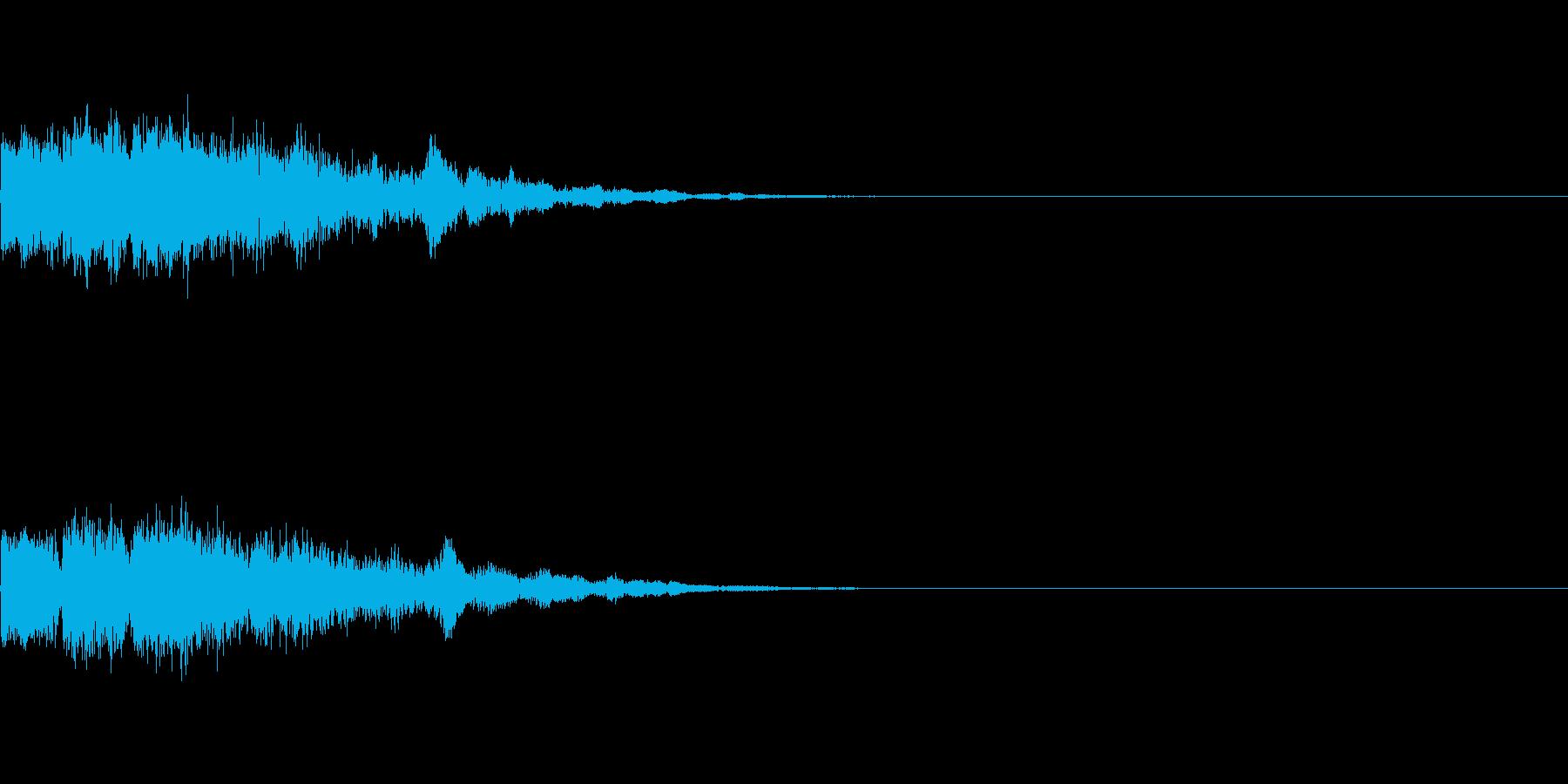 氷の技・パキーン・コリーン・パリーンの再生済みの波形