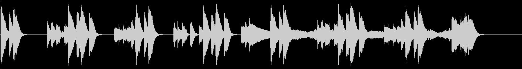 動画広告 30秒 ミニマルA ポジティブの未再生の波形