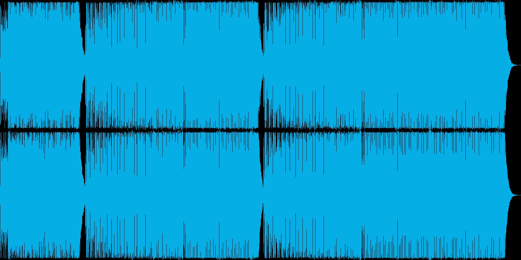 バロック風のBig Room Houseの再生済みの波形