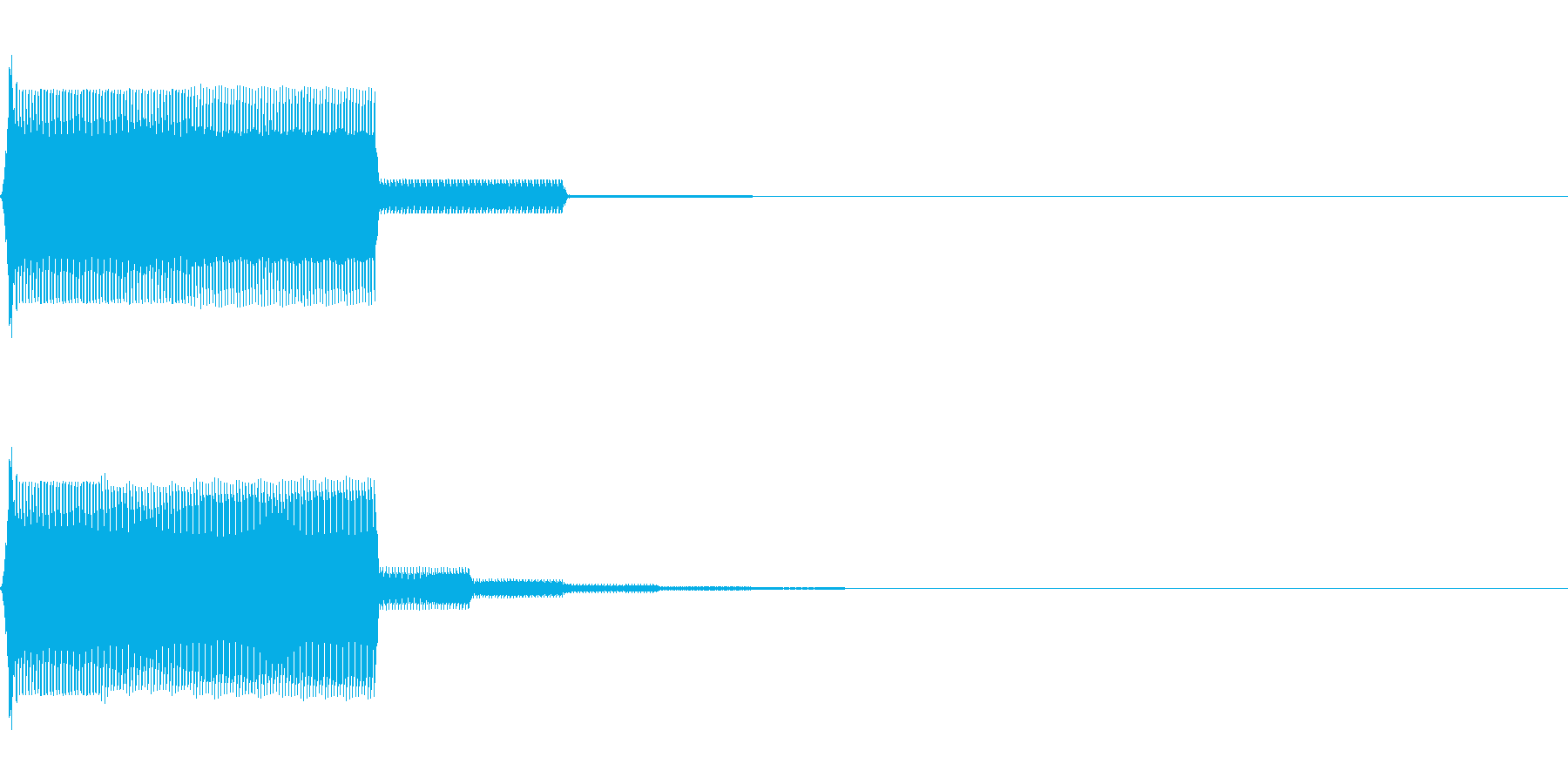 【SE】操作音06(ポ)の再生済みの波形