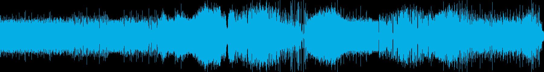 かっこいいエレクトロの再生済みの波形