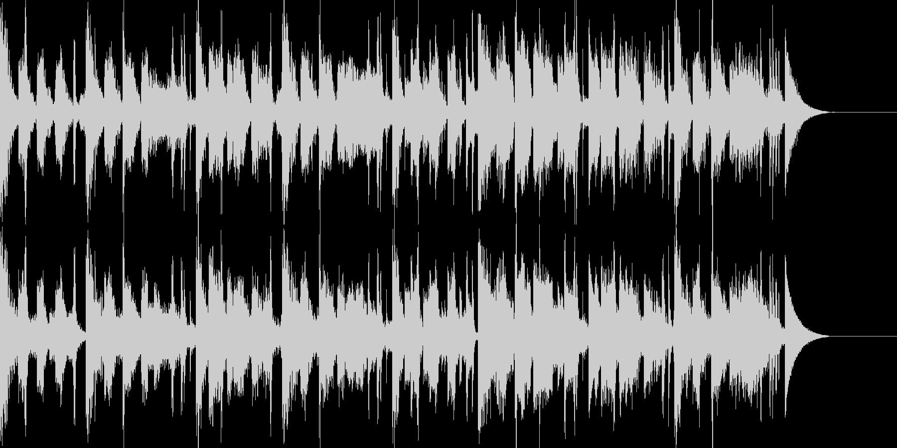 アパレル系CMに合いそうなエレクトロの未再生の波形