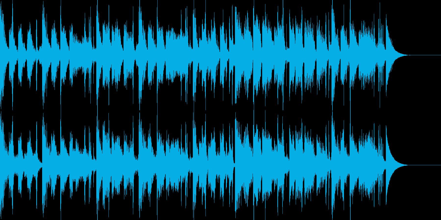 アパレル系CMに合いそうなエレクトロの再生済みの波形