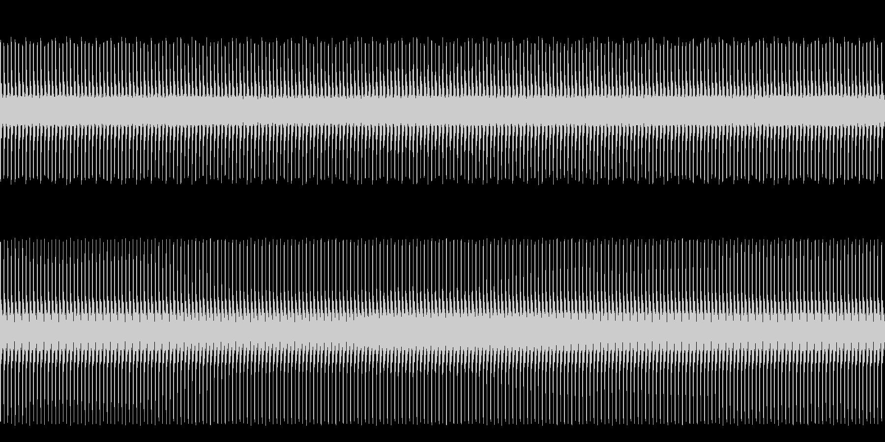 フワンフワン(侵入者発見や時間制限など)の未再生の波形