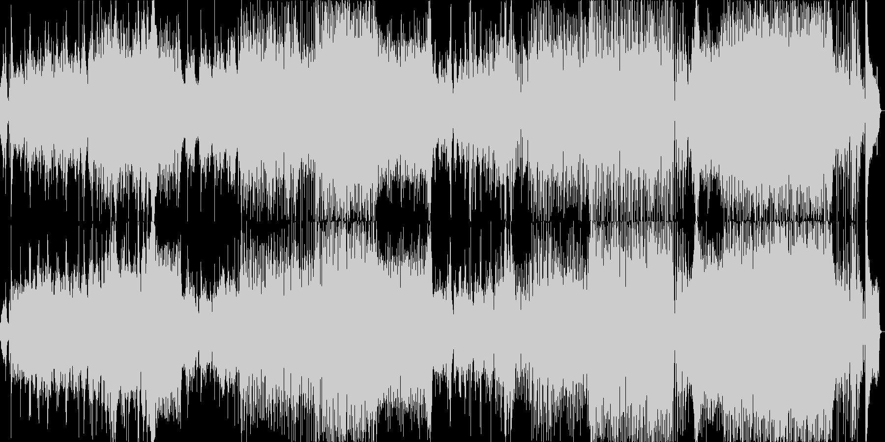 踊り よさこい EDM 和楽器風の未再生の波形