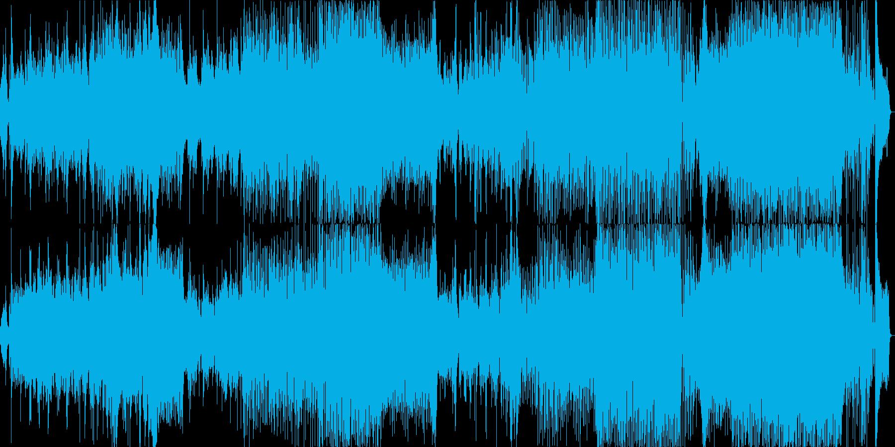 踊り よさこい EDM 和楽器風の再生済みの波形