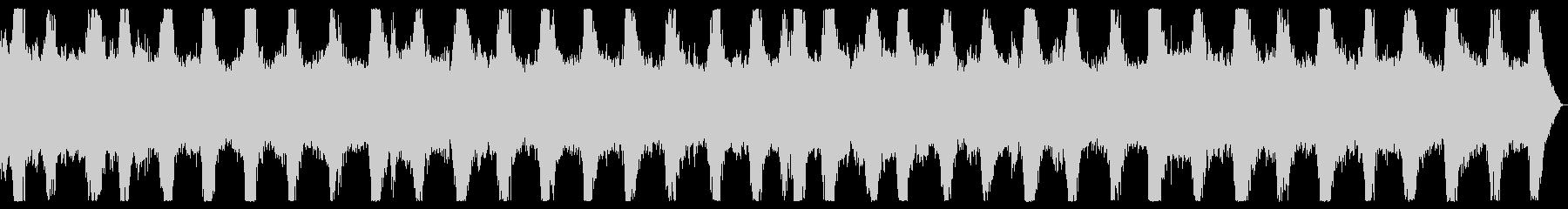 ダークアンビエント ノイズの入ったBGMの未再生の波形