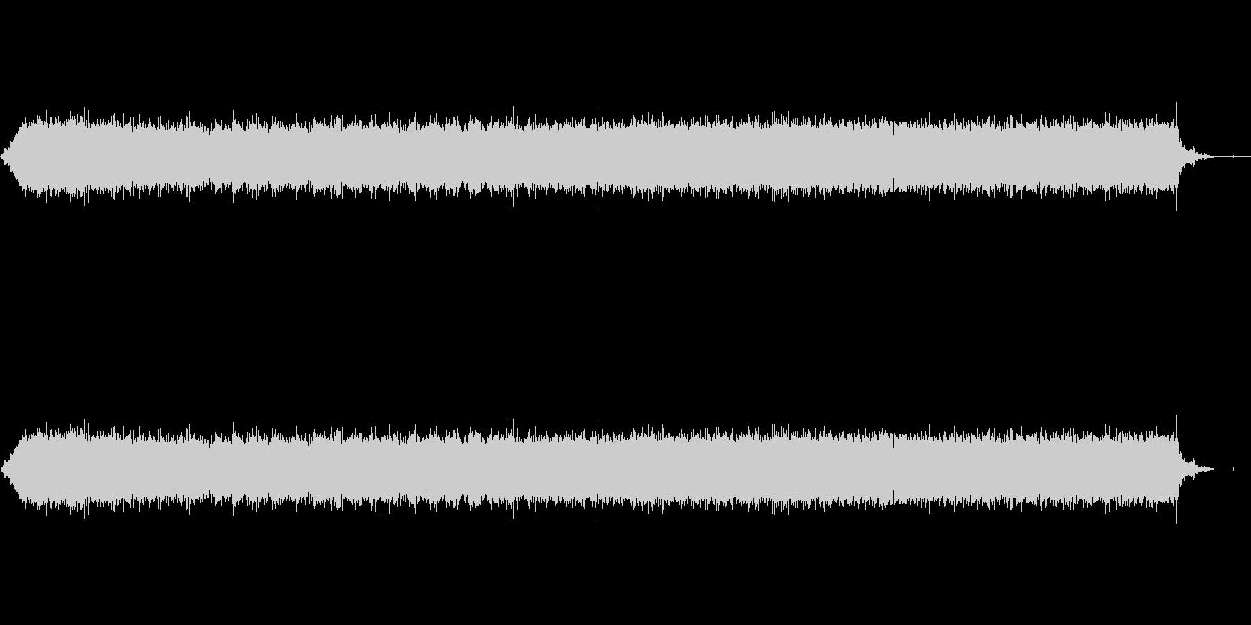 【生音】ガーーーーー!ヘアドライヤーの音の未再生の波形