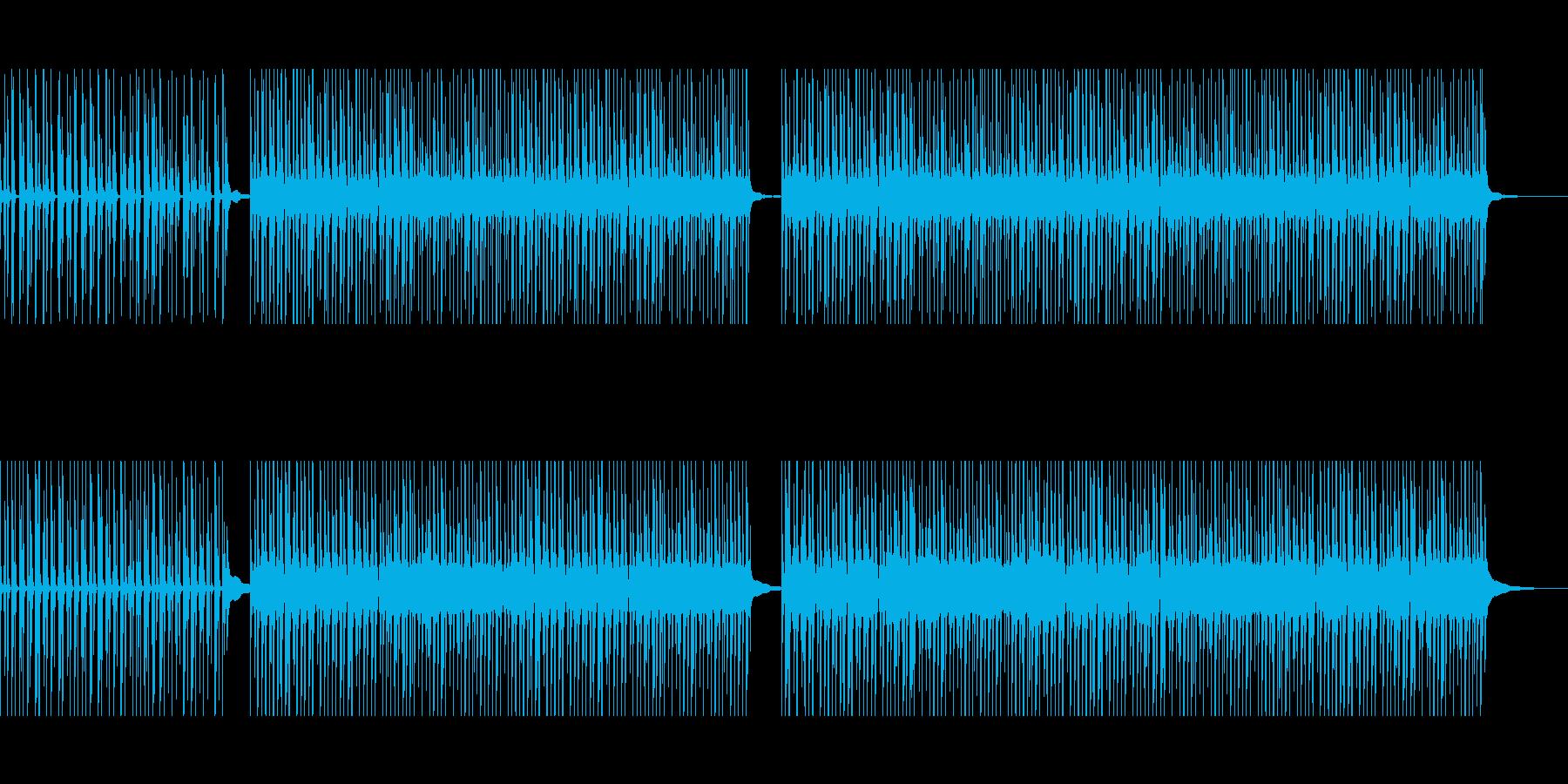 不思議な洗濯機の曲の再生済みの波形