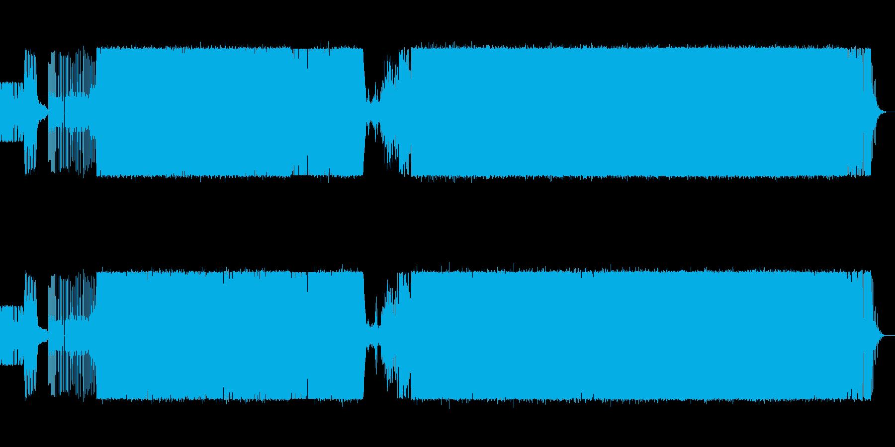 盛り上がる感じのEDM♫ 続編の再生済みの波形