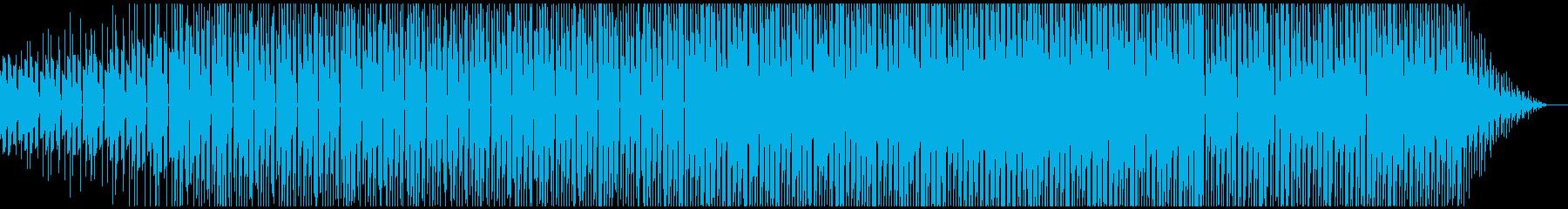 のんびりとしつつも少しあやしい感じのチルの再生済みの波形