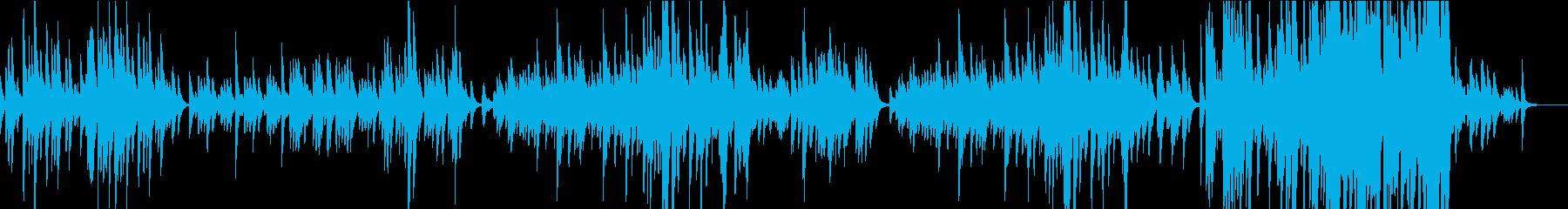 思い出を奏でるピアノの旋律の再生済みの波形
