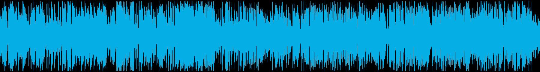 カジノやショーの幕開け的ジャズ※ループ版の再生済みの波形