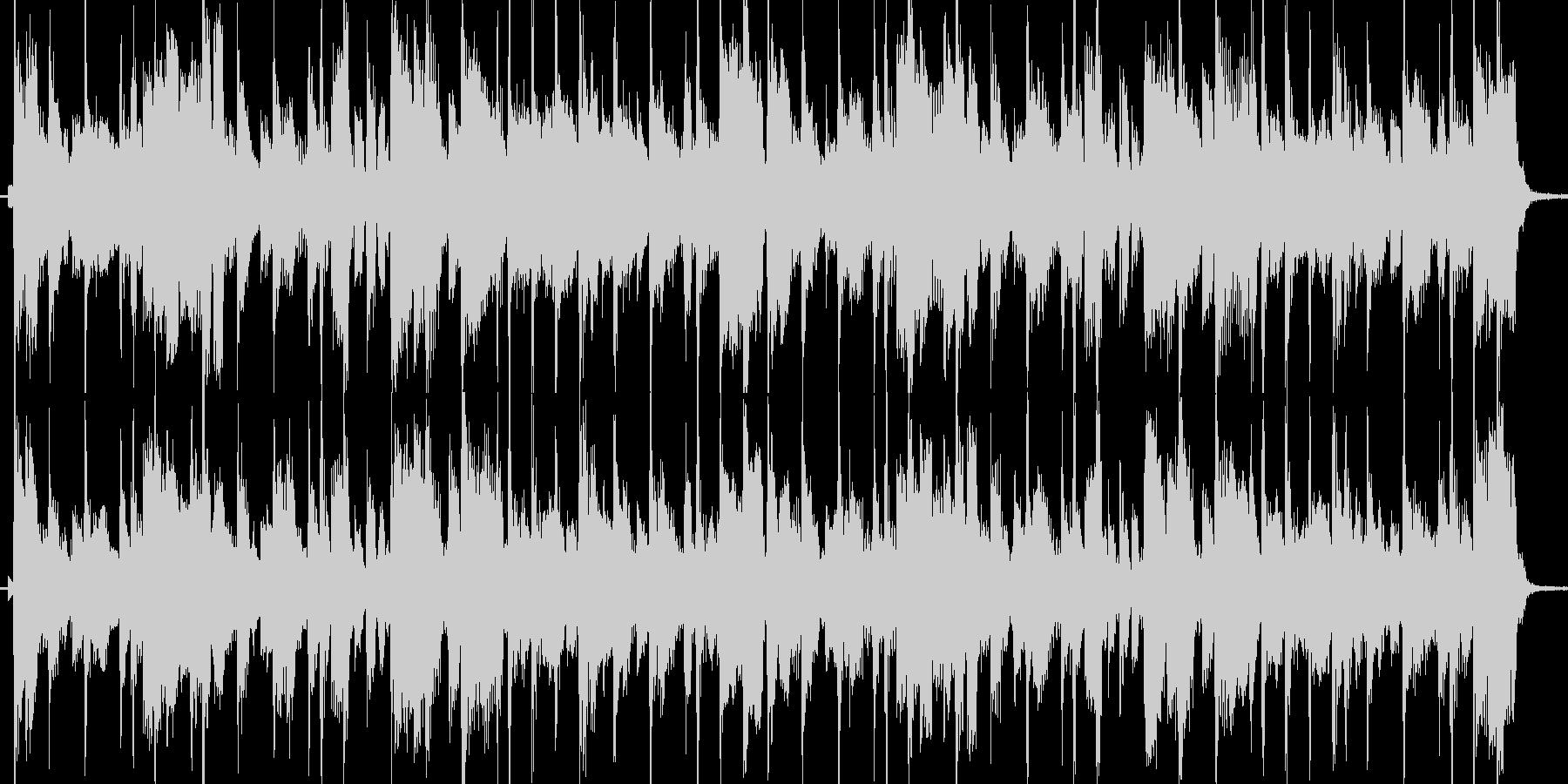 クールでかっこいいフュージョンジングルの未再生の波形