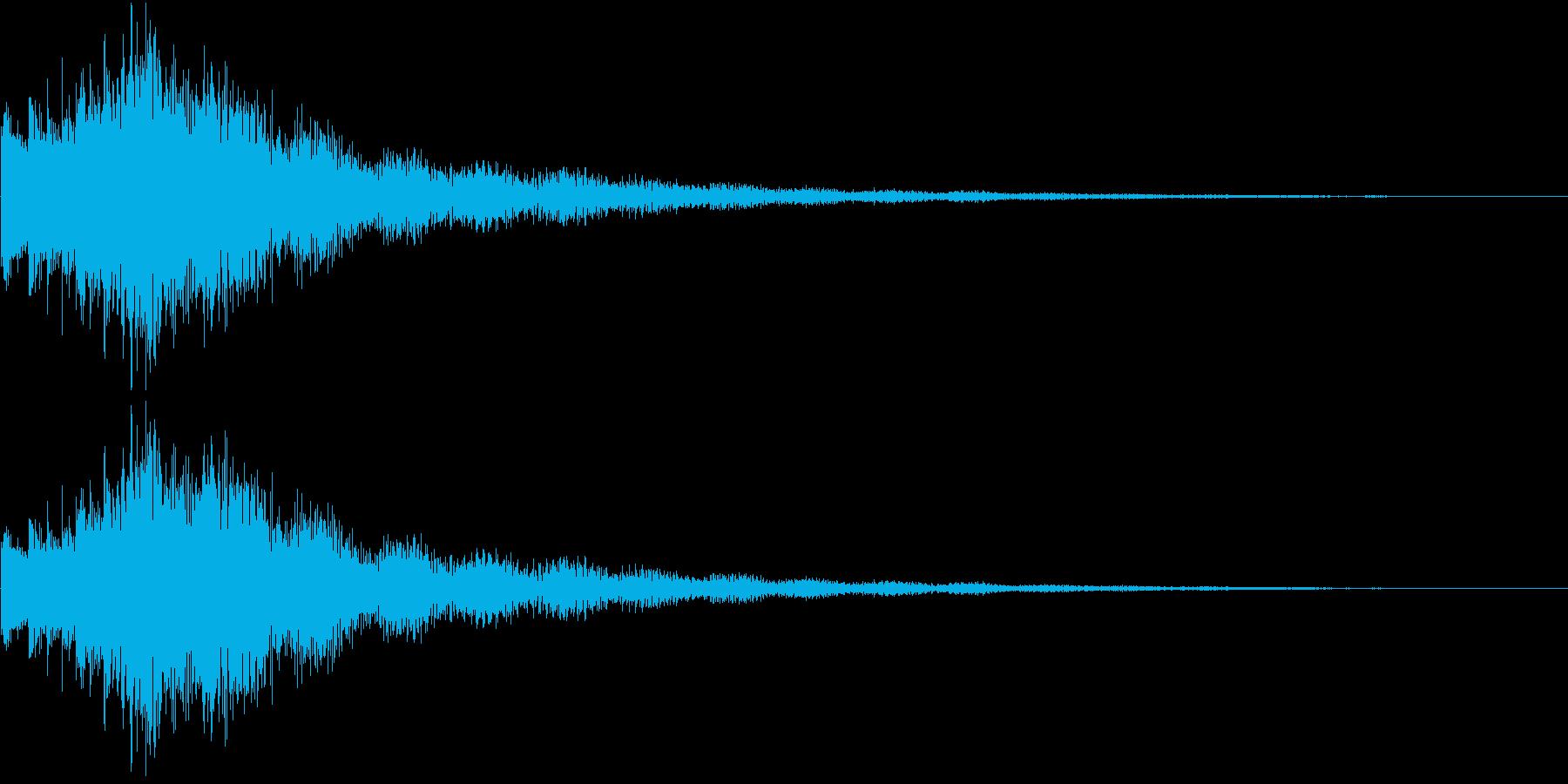 Comic キラキラ SE ジャラーンの再生済みの波形