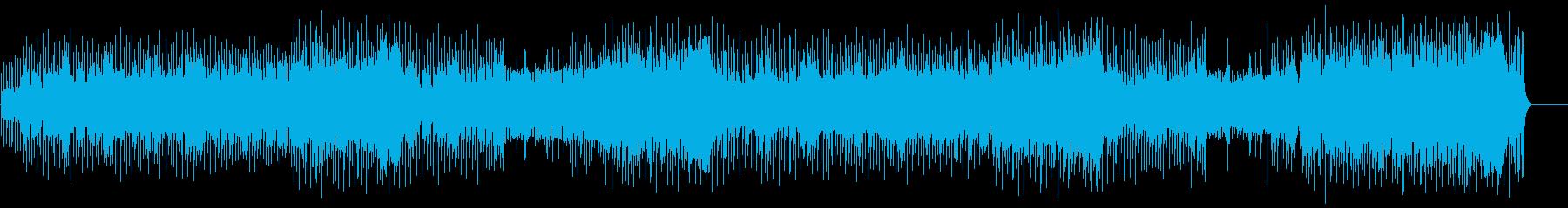 愉快で夢のあるポップ(フルサイズ)の再生済みの波形