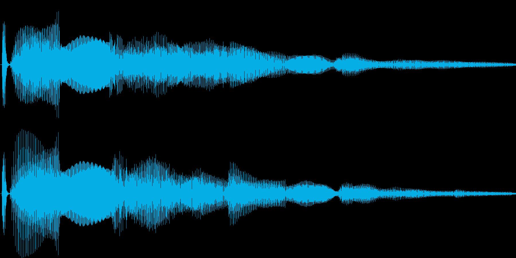 汎用キャンセルボタン - 2の再生済みの波形