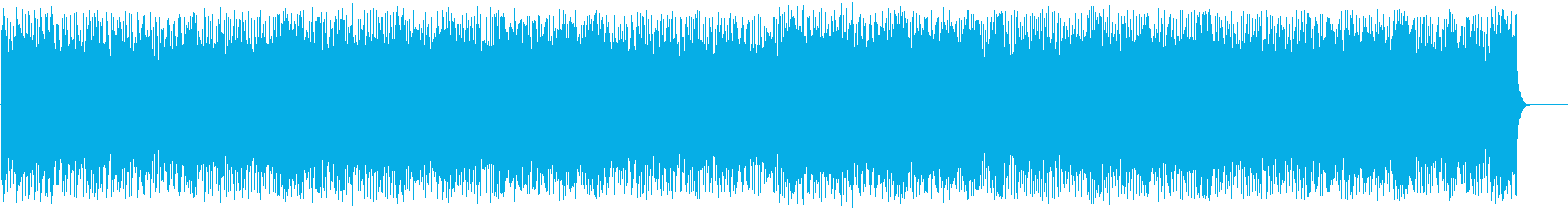 """盛り上がる強気の""""ファイト""""サウンドの再生済みの波形"""