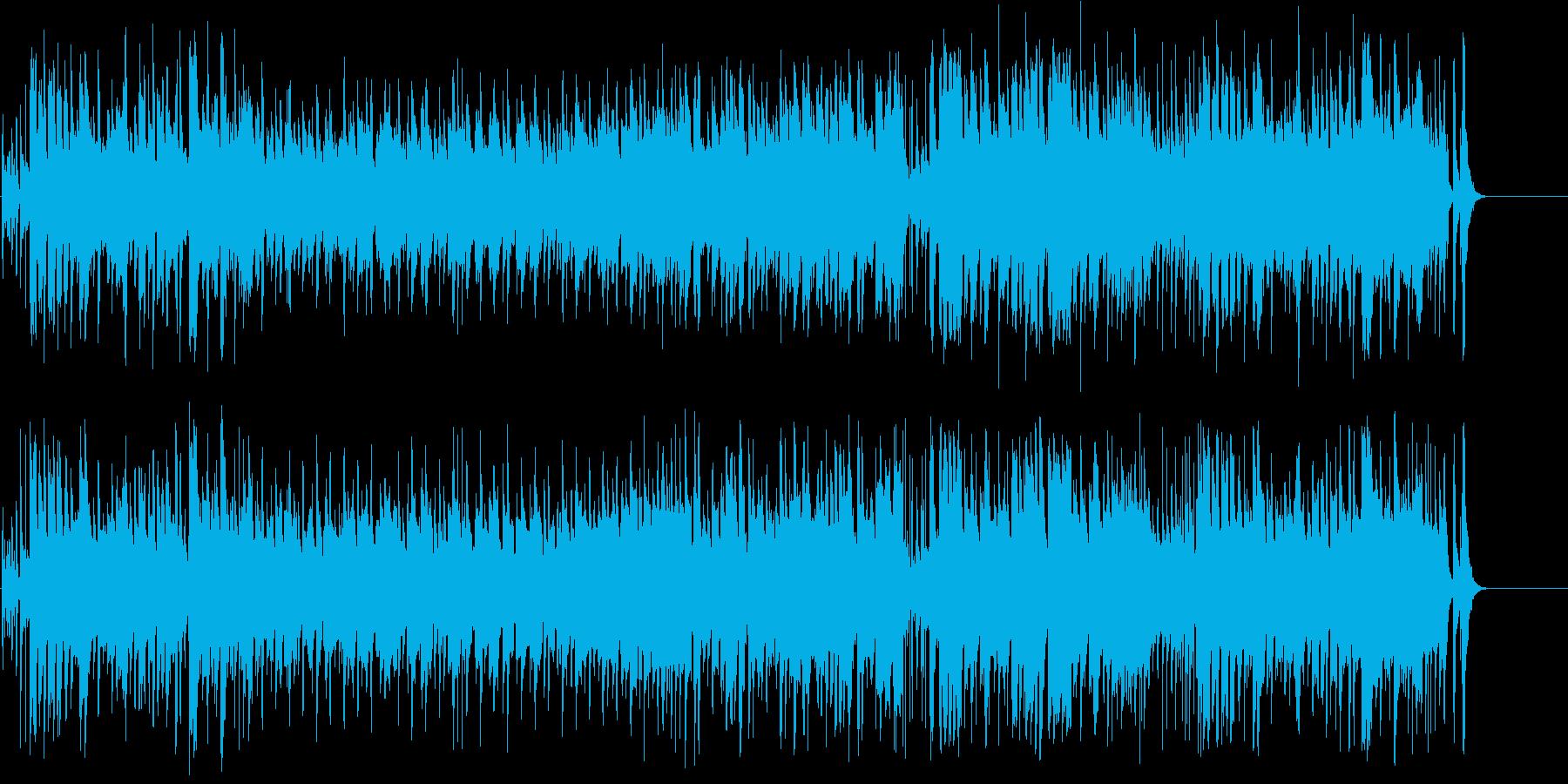 男のロマンを掻き立てるロッカバラードの再生済みの波形