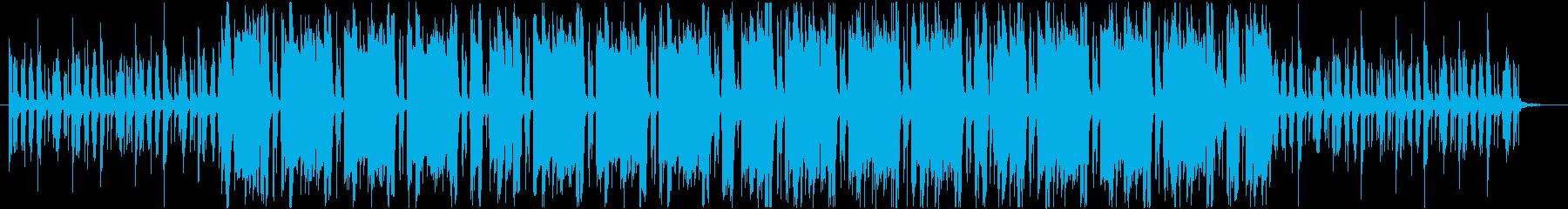 オシャレ・ブラスを使ったハウス・ループの再生済みの波形