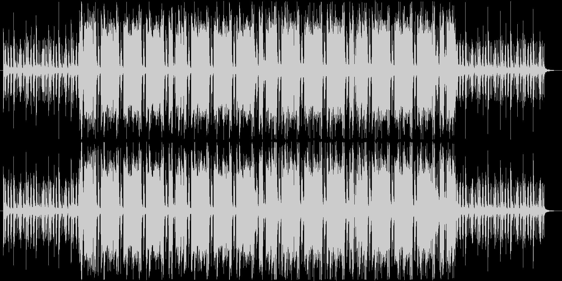 オシャレ・ブラスを使ったハウス・ループの未再生の波形