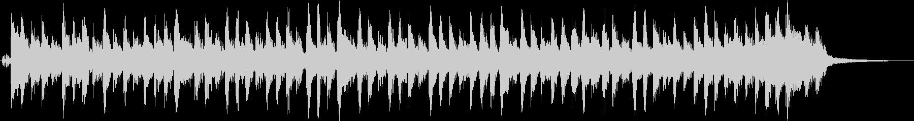 オールディーズ風のピアノロックの未再生の波形