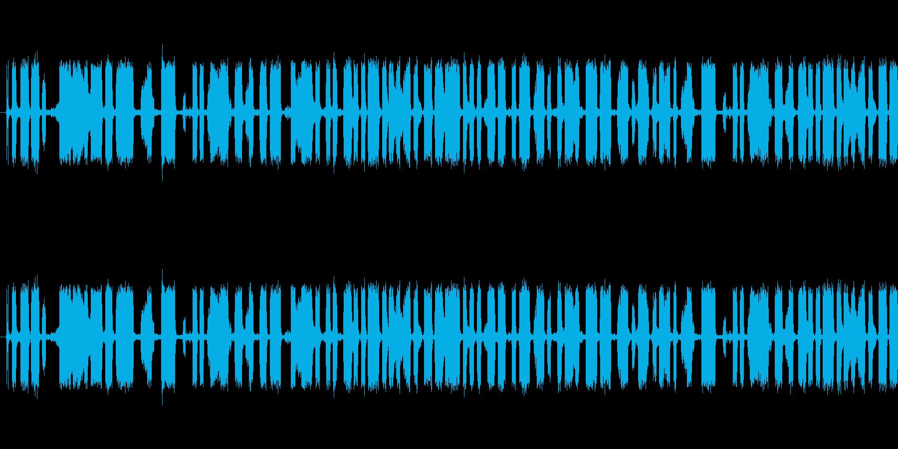 127_モールス信号(ノイズあり)の再生済みの波形