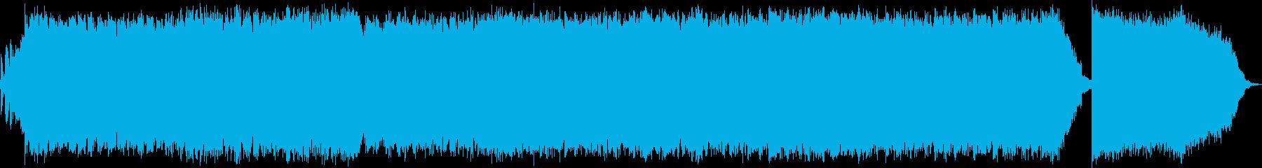 クールにリズムを刻むお洒落エレクトロニカの再生済みの波形
