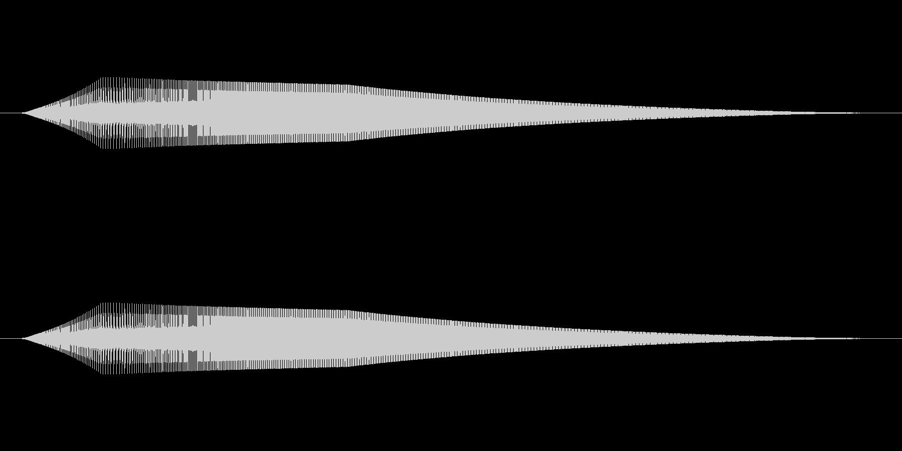 起動音その2の未再生の波形