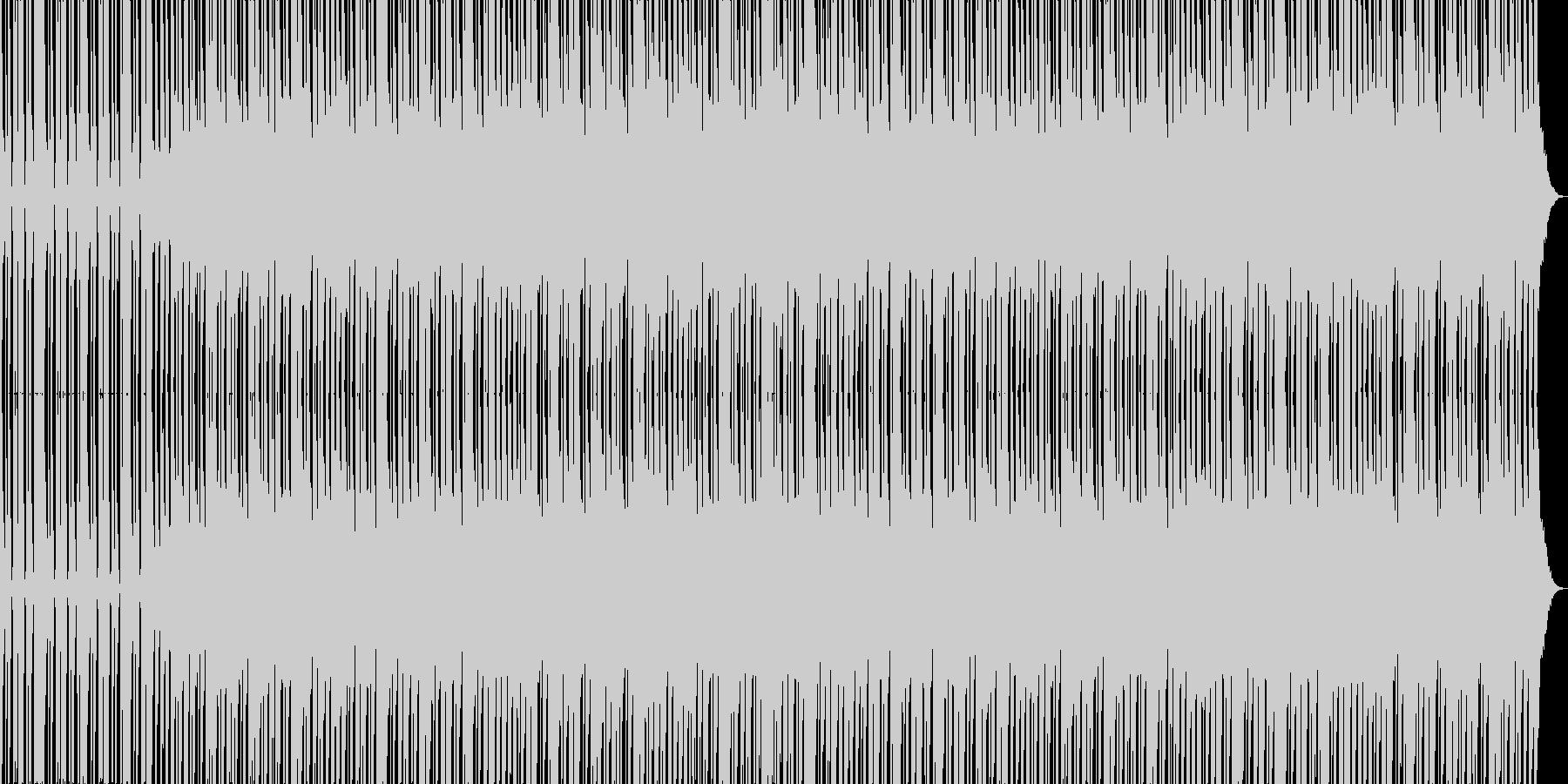 HIP HOP BEAT 1 の未再生の波形