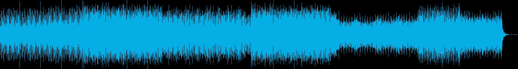 キャッチーでポップなエレクトロの再生済みの波形