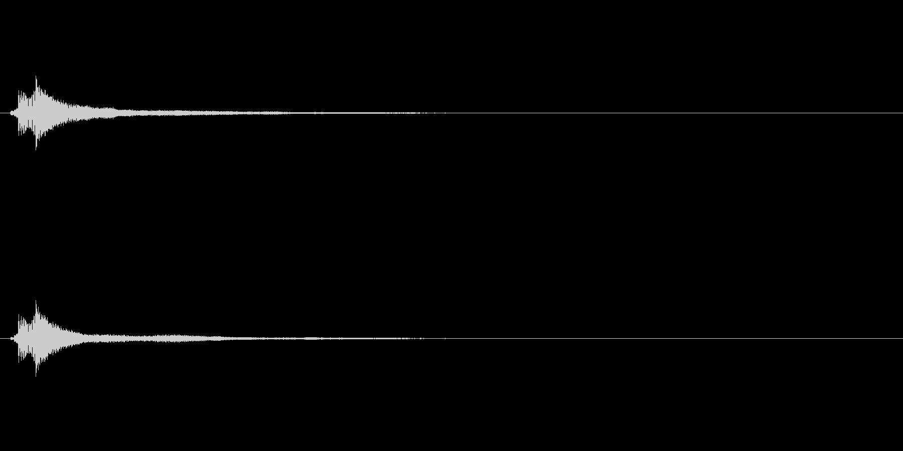 サウンドロゴ(企業ロゴ)_013の未再生の波形