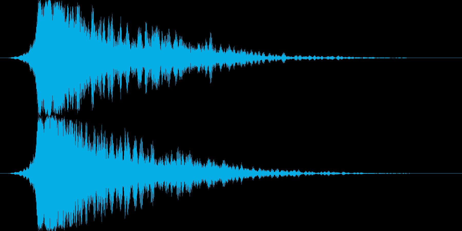 シャキーン☆派手なインパクトに最適17!の再生済みの波形